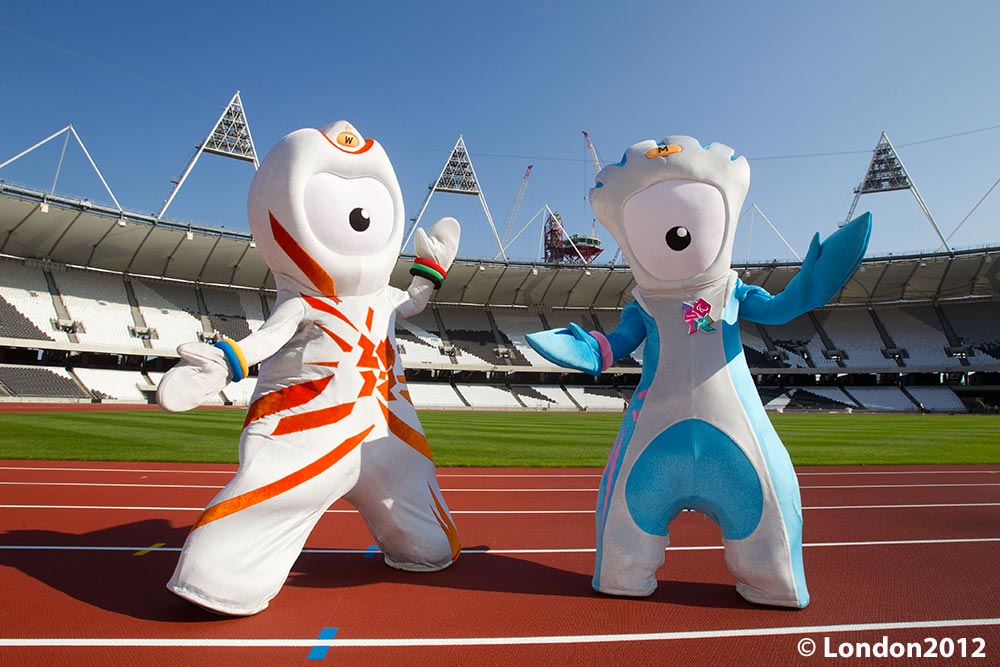Olympic Mascots SkyparkSecure