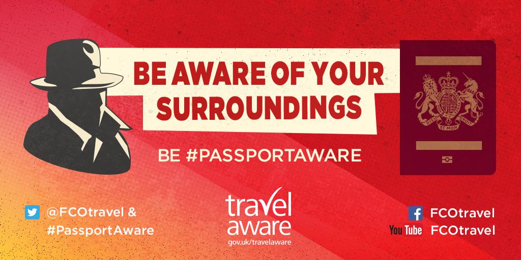 Be Passport Aware