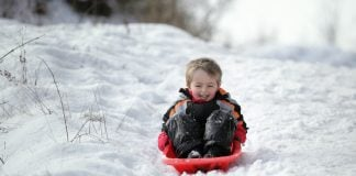 The UK's best sledging spots