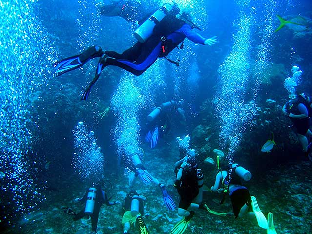 scuba diving holidays in costa rica
