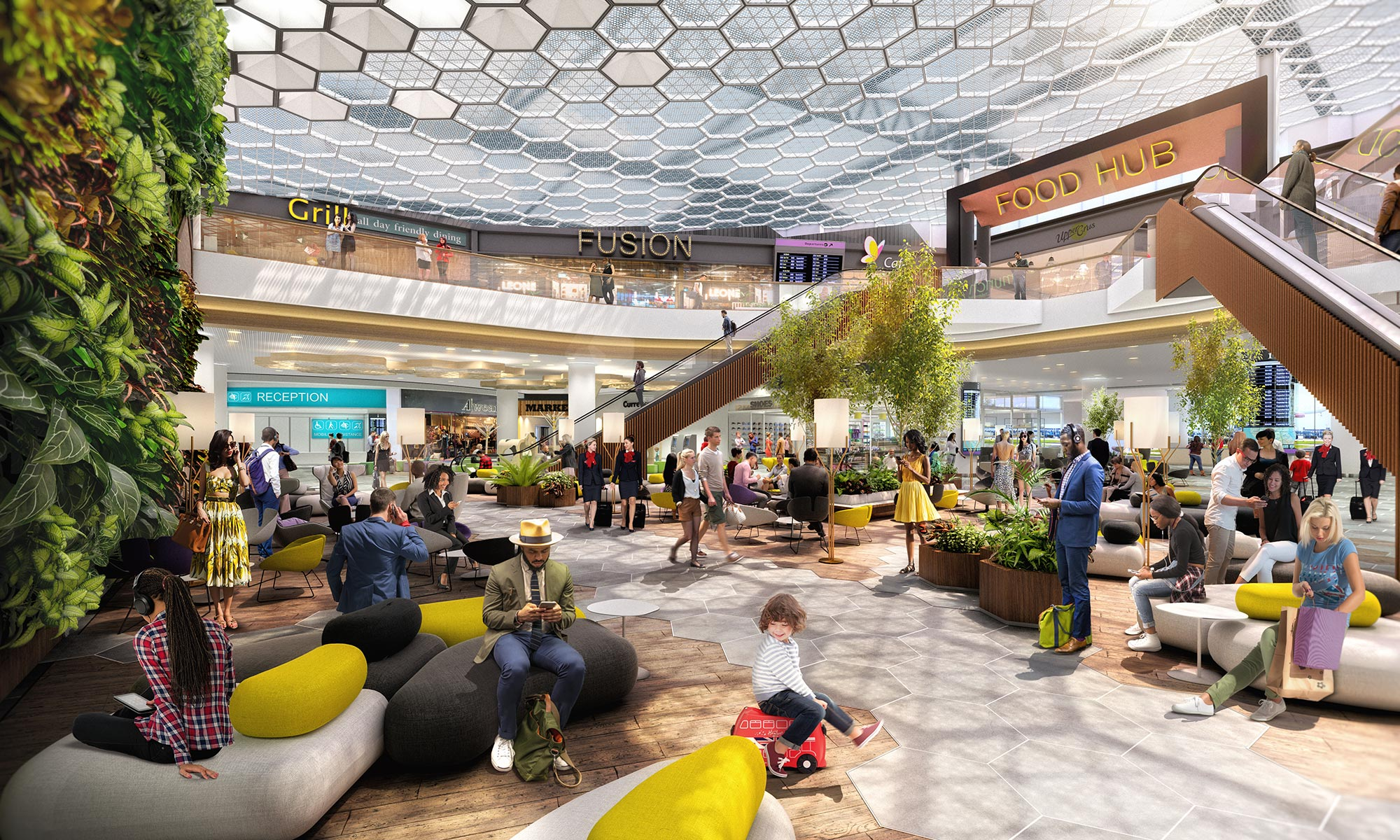 Manchester Airport Terminal 2 Works What You Need To Know