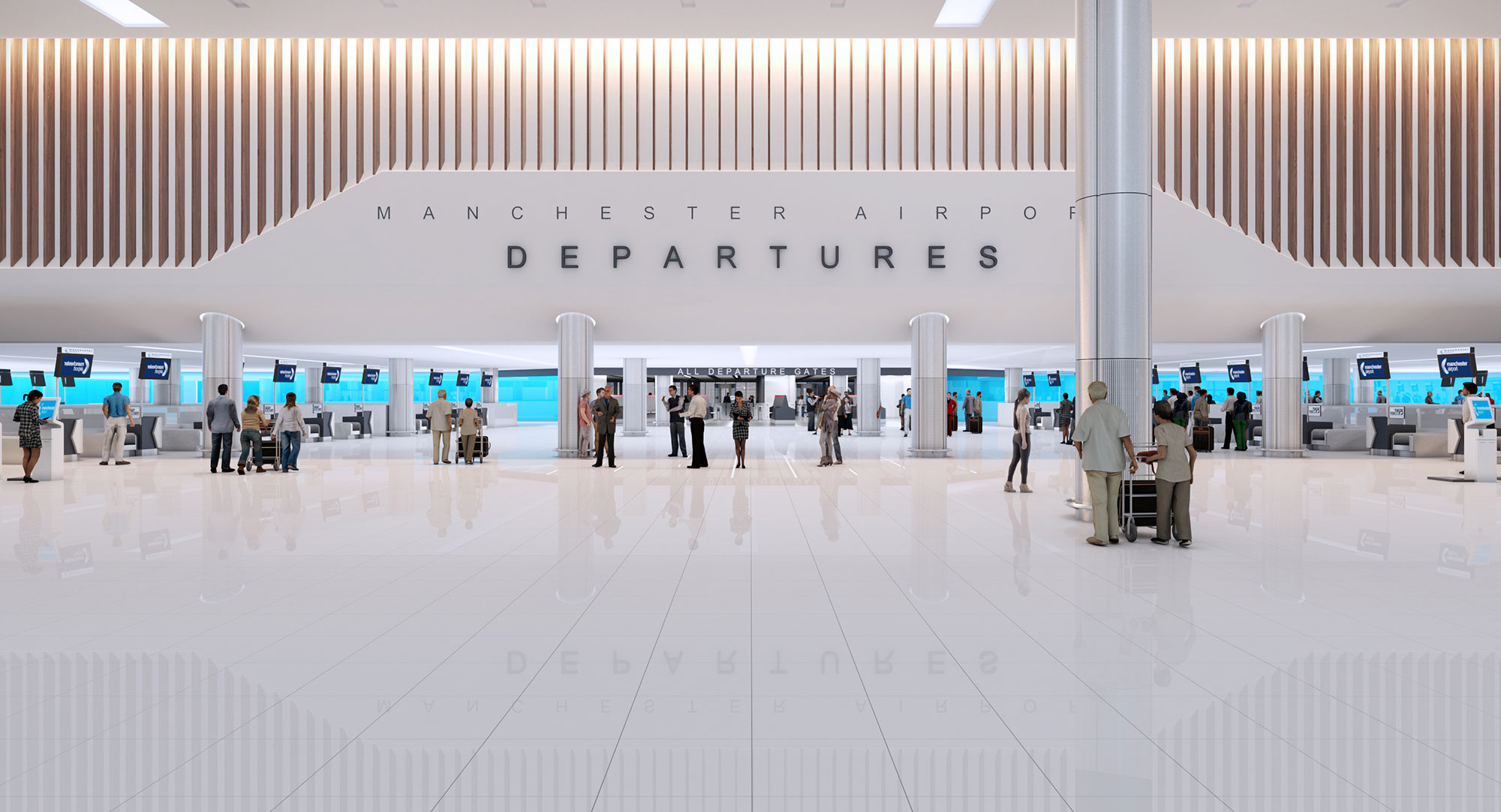 Manchester airport terminal 2 works what you need to know manchester airport terminal 2 new departures m4hsunfo